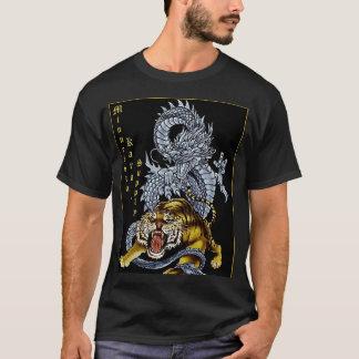 T-shirt Chemise de dragon d'approvisionnement de karaté du