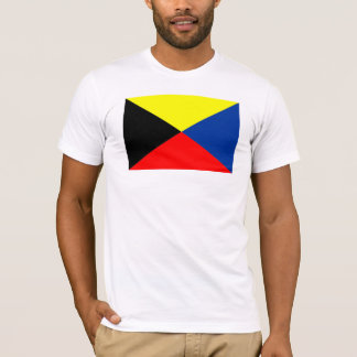 """T-shirt Chemise de drapeau de code de """"zoulou"""""""