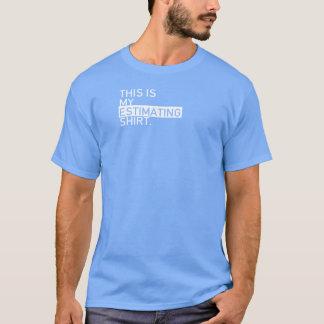 T-shirt Chemise de estimation agile