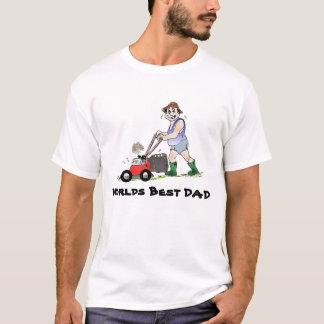 T-shirt Chemise de fauchage de la meilleure pelouse de