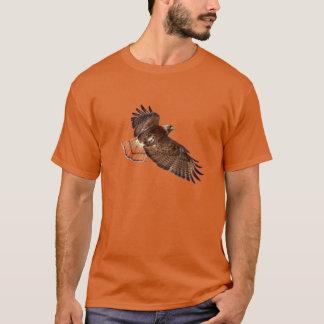 T-shirt Chemise de faune de faucon de Rouge-Queue