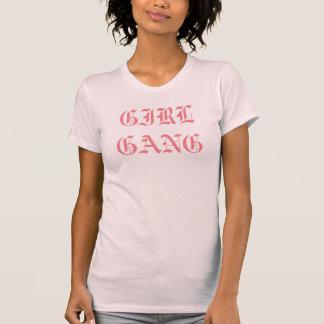 T-shirt Chemise de femmes de BANDE de FILLE