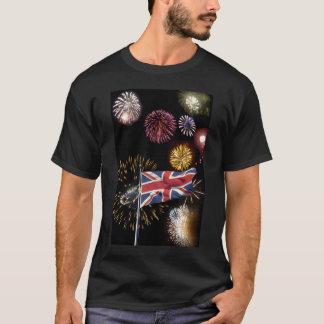 T-shirt Chemise de feux d'artifice de nuit de Guy Fawkes