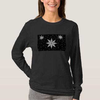 T-shirt Chemise de flocons de neige d'éblouissement