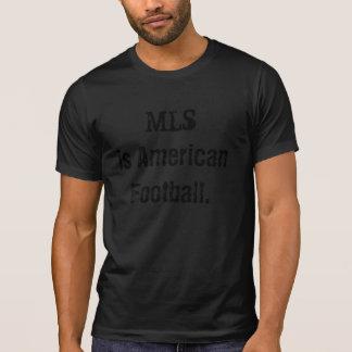 T-shirt Chemise de froid du football de MLS - noir/noir