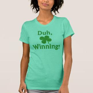 T-shirt Chemise de gain chanceuse de Charlie Sheen