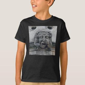 T-shirt chemise de gargouille de Nez-et-bouche