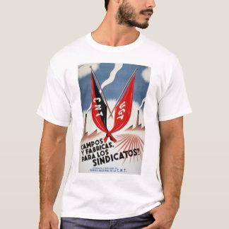 T-shirt Chemise de guerre civile espagnole