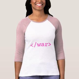 T-shirt Chemise de guerre de fin