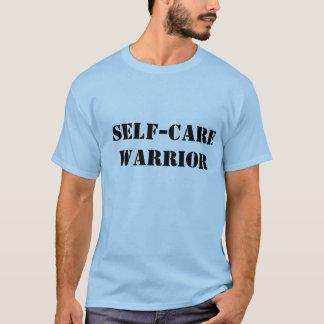 T-shirt Chemise de guerrier d'auto-soins pour des mâles