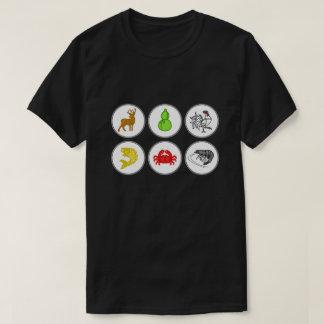 T-shirt Chemise de jeu de matrices de Vietnamien de crabe