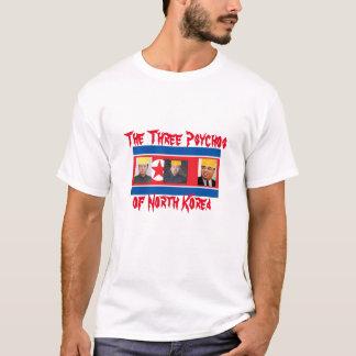 T-shirt Chemise de Kim Corée du Nord Psychos
