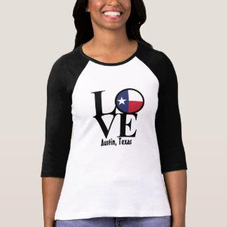 T-shirt Chemise de la douille des femmes d'Austin le Texas