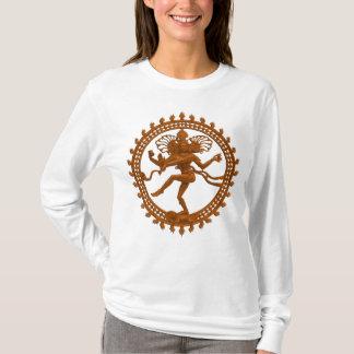 T-shirt Chemise de la douille des femmes de Shiva de danse