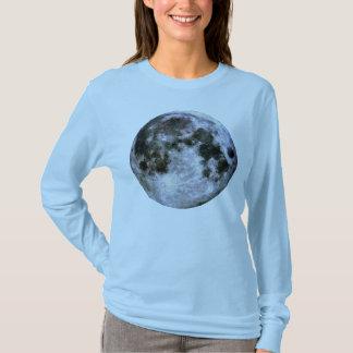 """T-shirt Chemise de la pleine lune des femmes """""""