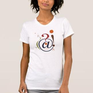 T-shirt Chemise de la ponctuation des femmes