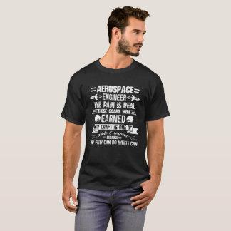 T-shirt Chemise de la vie d'ingénieur aérospatial