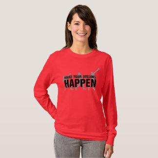 T-shirt Chemise de lanceur mise par tir d'athlétisme
