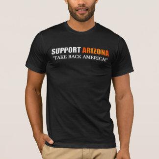 T-shirt Chemise de l'Arizona de soutien