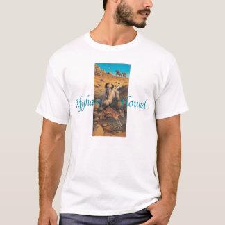 T-shirt Chemise de lévrier afghan
