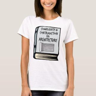 T-shirt Chemise de livre de complexité et de contradiction