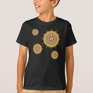 T-shirt Chemise de l'obscurité de l'enfant et du bébé d'or
