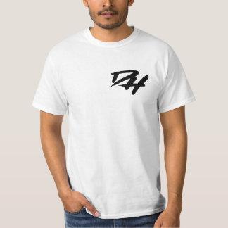 T-shirt Chemise de logo de CAD de graffiti