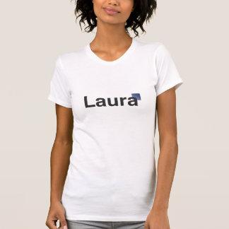 T-shirt Chemise de logo de Laura