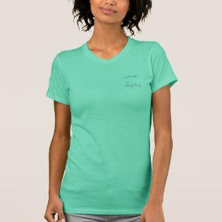 T-shirt chemise de logo de sara-dipity