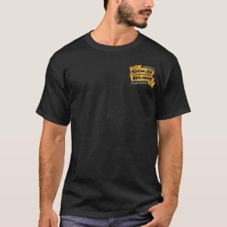 T-shirt Chemise de maïs éclaté de fièvre de l'or