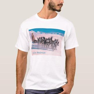 T-shirt Chemise de Malamute d'Alaska