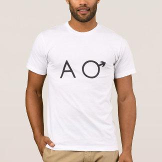 T-shirt chemise de mâle alpha