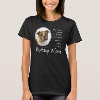 T-shirt Chemise de maman de bouledogue