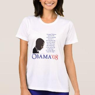 T-shirt Chemise de marathon d'Obama - femmes