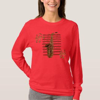 T-shirt Chemise de mélomane de musicien de SAXOPHONE