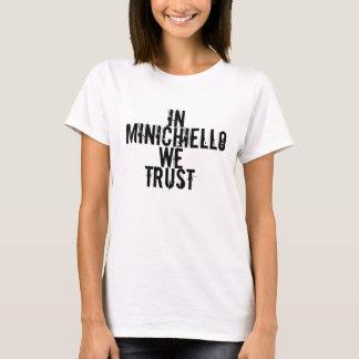 T-shirt chemise de minichiello d'Anthony