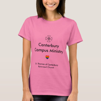 T-shirt Chemise de ministère de campus de Cantorbéry