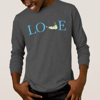 T-shirt Chemise de Nantucket d'amour pour des garçons