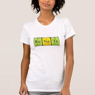 T-shirt Chemise de nom de table périodique de Renata