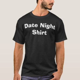 T-shirt Chemise de nuit de date