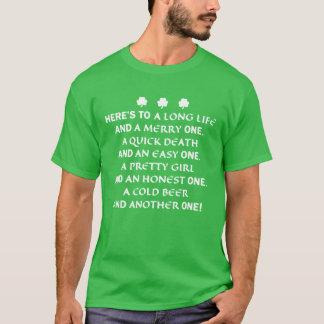 T-shirt Chemise de pain grillé du jour de St Patrick