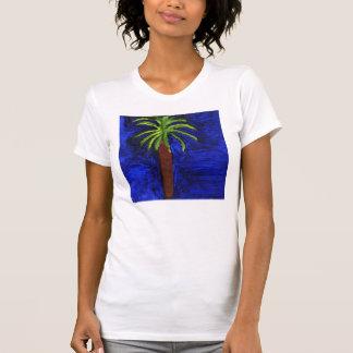 T-shirt Chemise de palmier par Julia Hanna