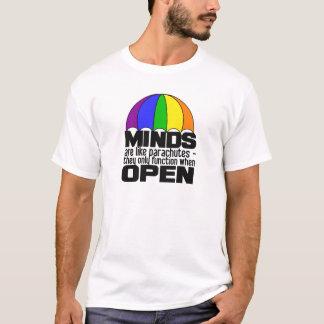 T-shirt Chemise de parachute d'arc-en-ciel - choisissez le