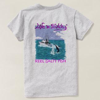 T-shirt Chemise de pêche Customized pour elle !