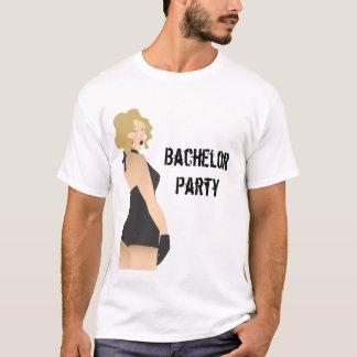 T-shirt Chemise de pin-up de fille d'enterrement de vie de