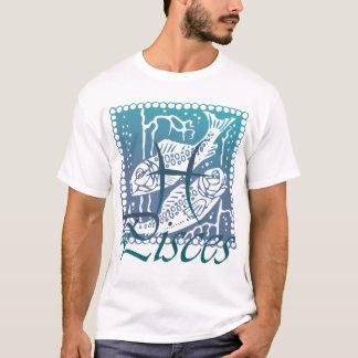 T-shirt Chemise de Poissons de zodiaque