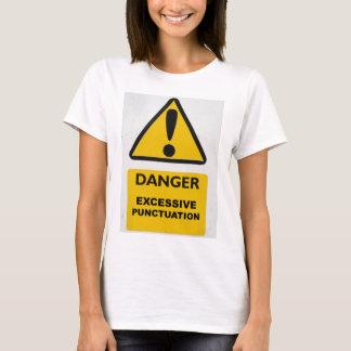 T-shirt Chemise de ponctuation