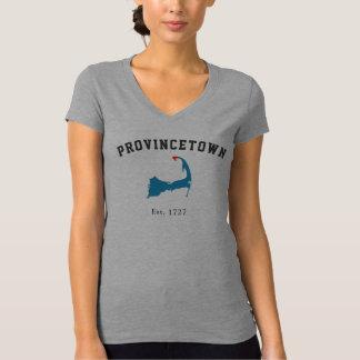T-shirt Chemise de Provincetown le Massachusetts Bella