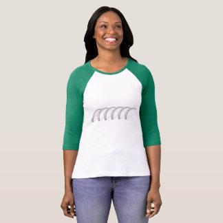 T-shirt Chemise de rangée de taco