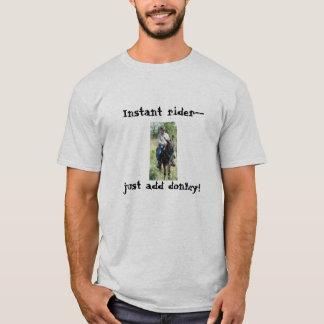 T-shirt Chemise de repaire et de Sara, cavalier